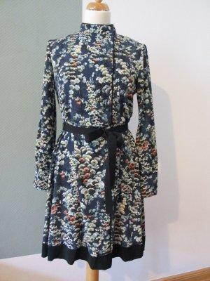 zara Kleid im Asiastil mit Stehkragen Gr. S