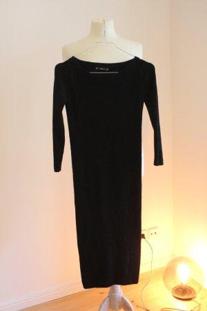 Zara Kleid in schwarz (gibt es hier auch in rot!!)