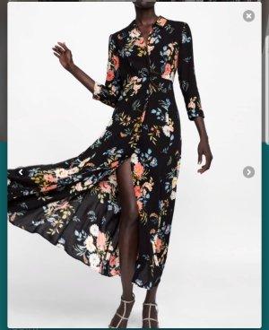 Zara Kleid Maxi floral, gr.40 neue Kollektion ausverkauft