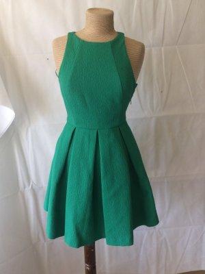 Zara Robe trapèze vert