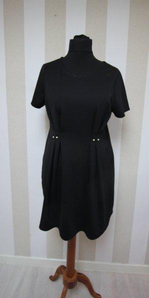 Zara kleid schwarz punkte