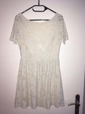 Zara-Kleid mit Spitze