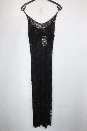 Zara Kleid Netzkleid Gr. M schwarz handgemacht NEU (18/6/216)