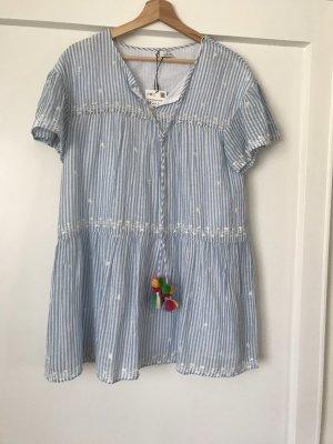Zara Mini Dress white-azure