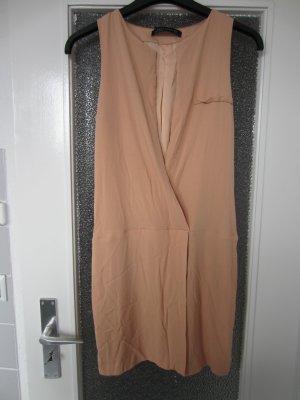 Zara Robe rose chair tissu mixte