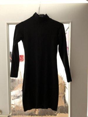 Zara Kleid Rollkragen Stretch Gr. S Reißverschluss am Rücken