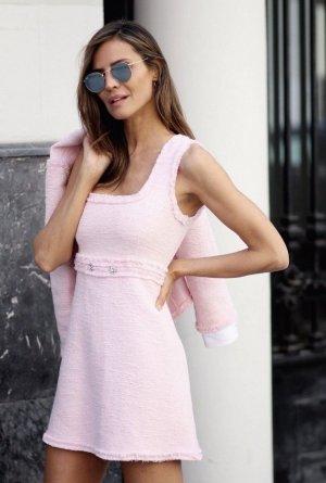 Zara Kleid Rosa Dress Minikleid