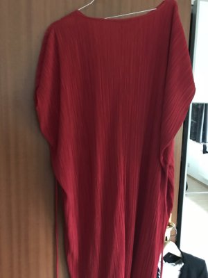 Zara Caftán rojo-rojo oscuro