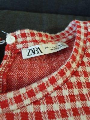 Zara Kleid Rot Karriert