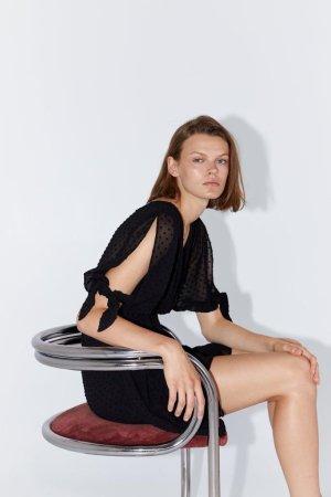 ZARA Kleid schwarz aktuelle Kollektion NP 40€