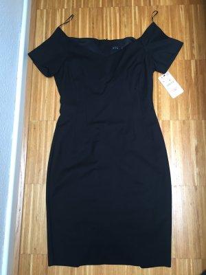 ZARA Kleid schwarz Groesse L NEU mit Etikett