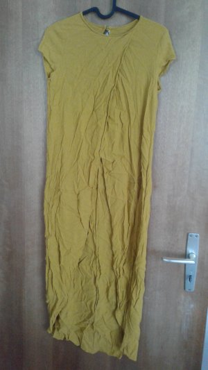 Zara kleid senfgelb
