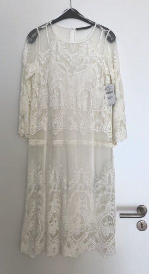 Zara Midi Dress multicolored mixture fibre