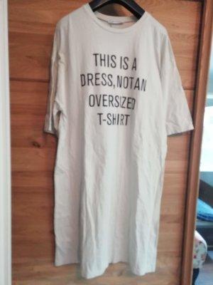 Zara Kleid Statement Oversize Boyfriend Shirtkleid M