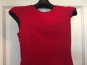 Zara Kleid Tailliert Sexy Rot Gr.M