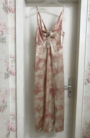 Zara Pinafore dress pink-natural white