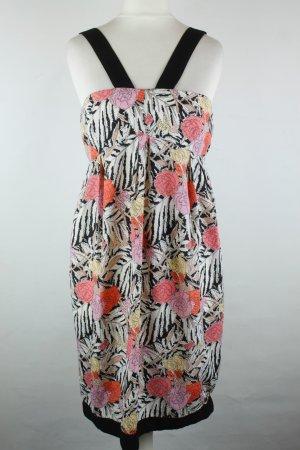Zara Basic Robe à bretelles multicolore polyester