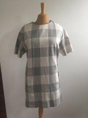 Zara T-shirt jurk zwart-wit