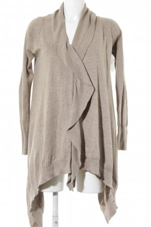 Zara Knit Cardigan beige Casual-Look