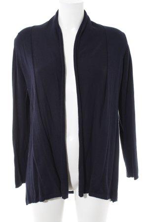 Zara Knit Cardigan dunkelblau schlichter Stil
