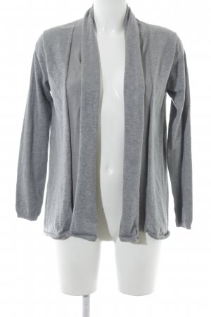 Zara Knit Cardigan grau Casual-Look