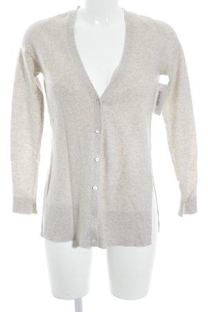 Zara Knit Cardigan hellbeige klassischer Stil