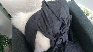 Zara Knit Cardigan in Grau mit Schalkragen