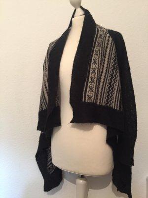 Zara Knit Cardigan mit Muster