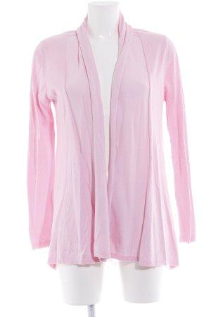 Zara Knit Cardigan rosa Casual-Look