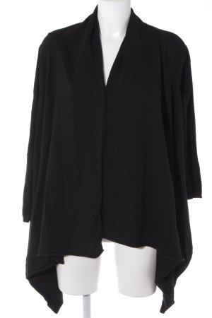 Zara Knit Cardigan noir style décontracté