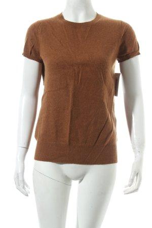 Zara Knit Cashmerepullover braun Casual-Look