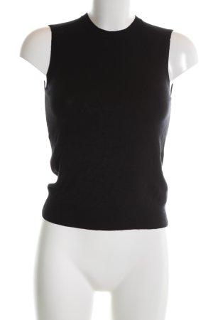 Zara Knit Cárdigan de punto fino negro look casual