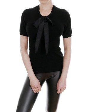 Zara Short Sleeve Sweater black