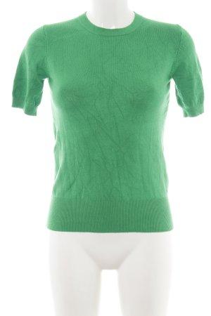 Stile Maglione Corte Zara Professionale Maniche Knit Verde A