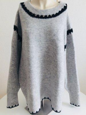 Zara Knit Kuschelpullover Größe M