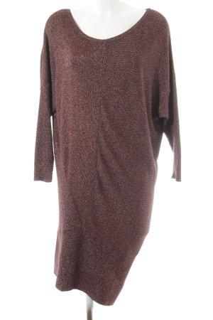 Zara Knit Pull long moucheté Aspect de patchwork
