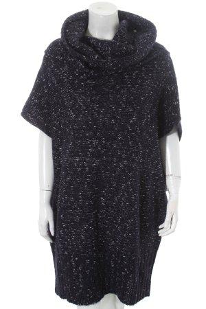 Zara Knit Longpullunder dunkelblau Casual-Look