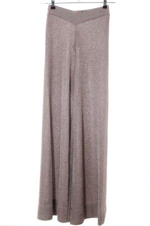 Zara Knit Pantalon Marlene bronze moucheté style décontracté