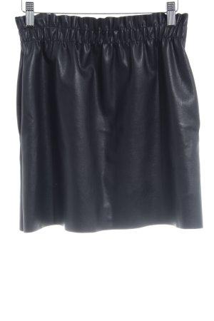 Zara Knit Minirock schwarz Elegant
