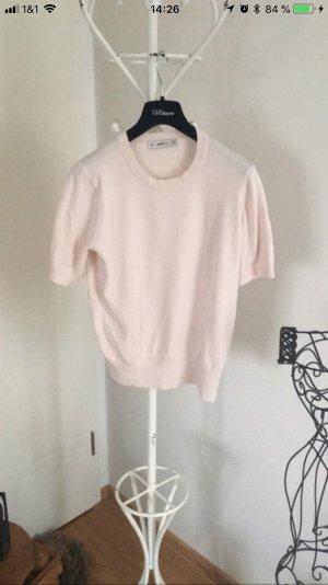 Zara Knit Camisa tejida rosa