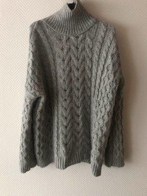 Zara Knit - Oversize Rollkragen Pullover