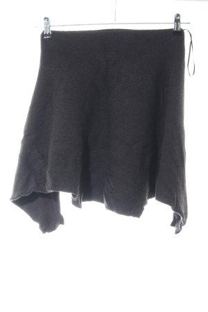 Zara Knit Oversized Pullover schwarz Casual-Look