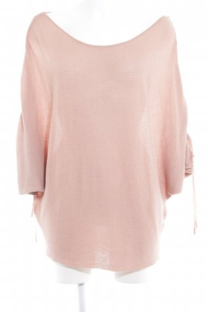 Zara Knit Oversized Pullover nude Kuschel-Optik