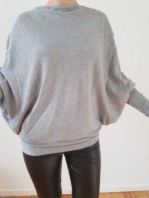 Zara Knit Poncho Pullover XS S 34 36 oversized Longpulli Longshirt Strickjacke