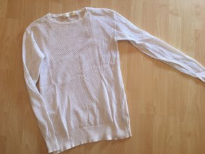 Zara Knit Long Sweater white
