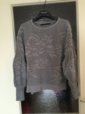 Zara Knit Pullover 3D Optik