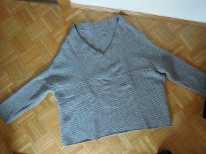 Zara Knit Pullover Grau Gr.M Wolle