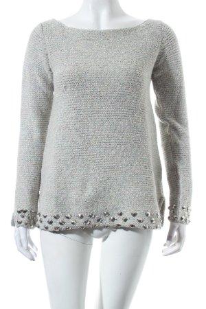 Zara Knit Pullover mehrfarbig Urban-Look