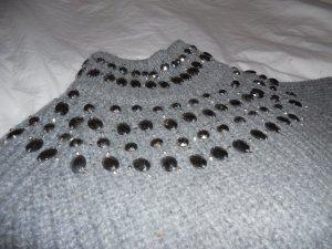 ZARA Knit Pullover mit Pailetten