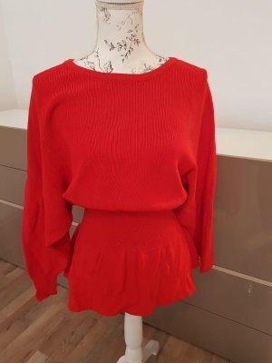 Zara Knit Pullover rot M